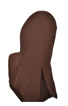 Chocolate Chair Cover